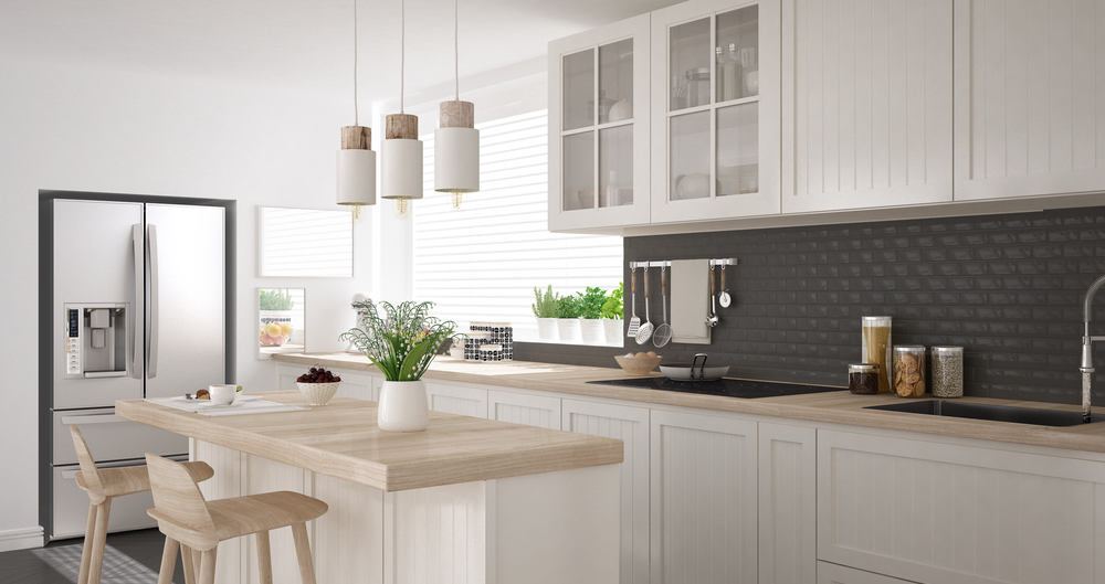 A clean and decluttered kitchen will help sell your home fast.