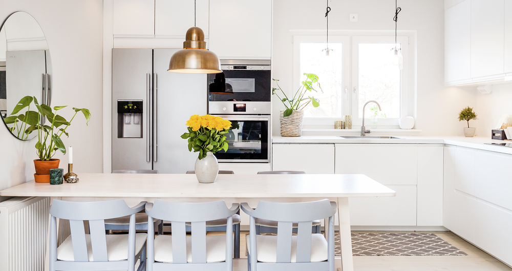When selling your home, stage it to look clean and inviting.