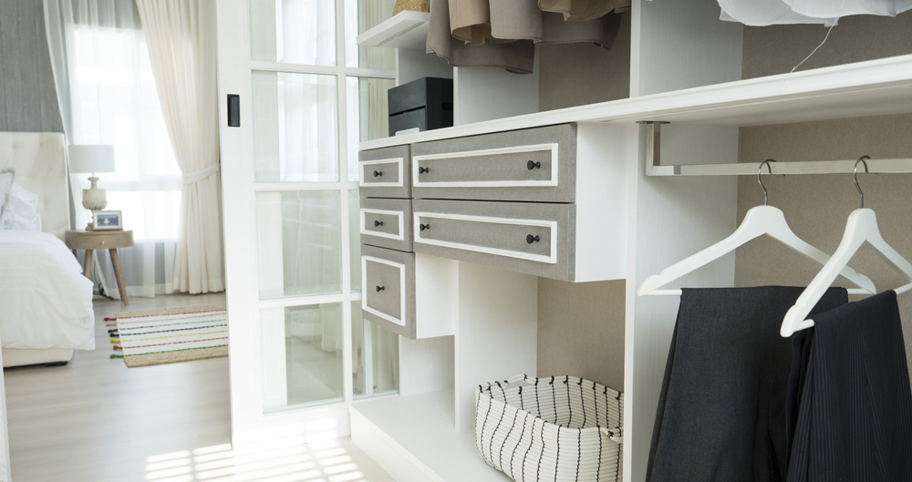 Before showing your home to potential buyers, organize those closets!